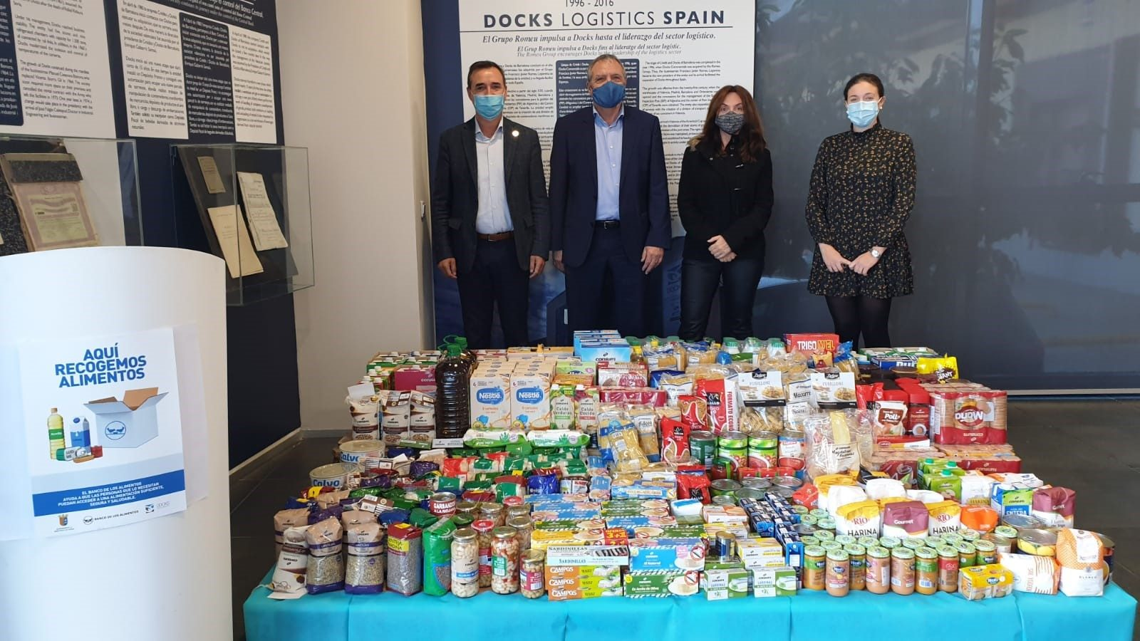 Entrega Solidaria de Alimentos